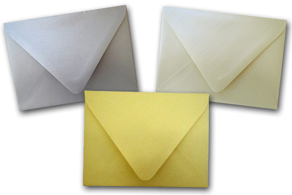 Stardream Metallic euro flap Envelopes