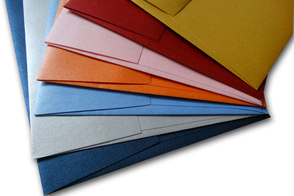 Metallic A8 envelopes