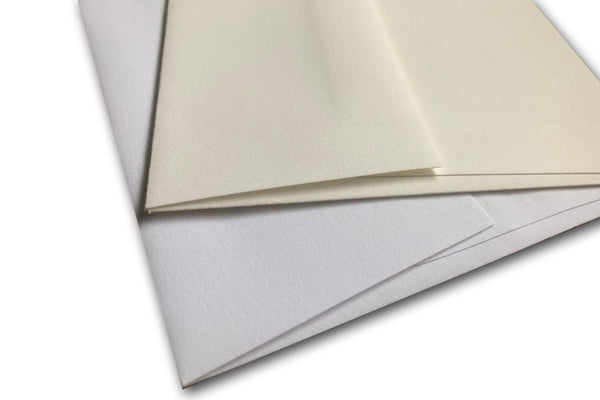 Cotton Envelopes for A9 sized formal Invitations