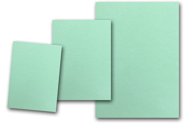 Sea Foam Green Discount Card Stock