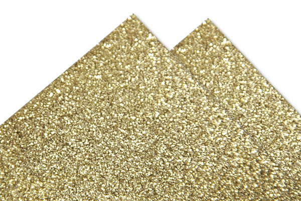 Gold Glitter Discount Card Stock