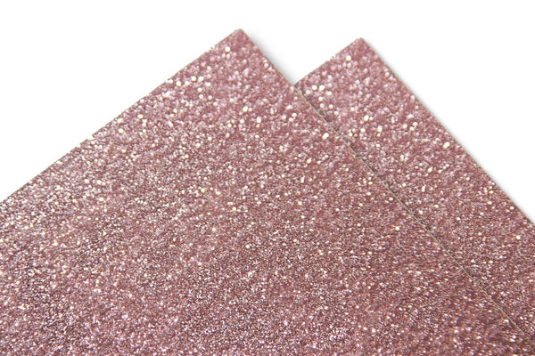 Pink Glitter Discount Card Stock