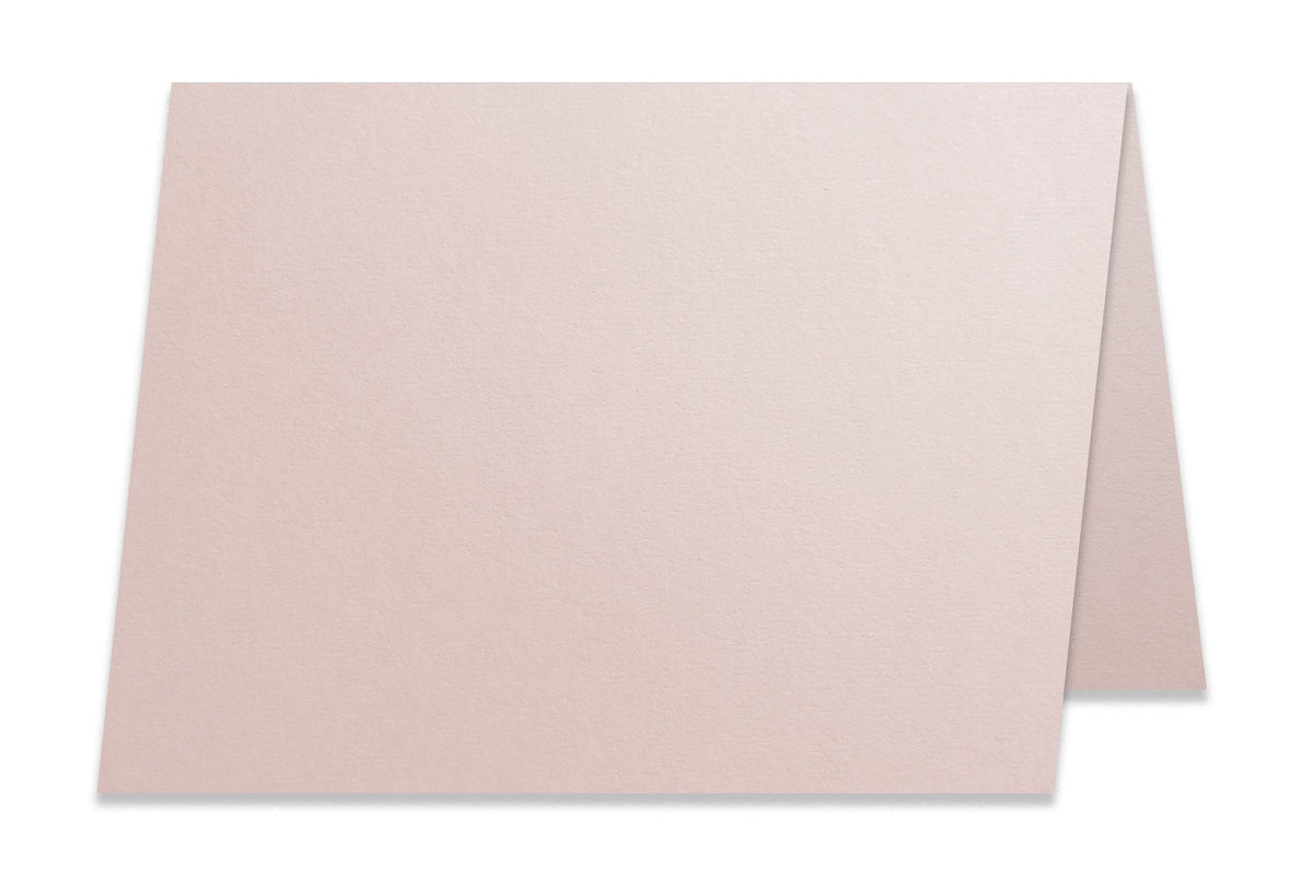 Basic Blush Soft Pink 5x7 Folded Discount Card Stock
