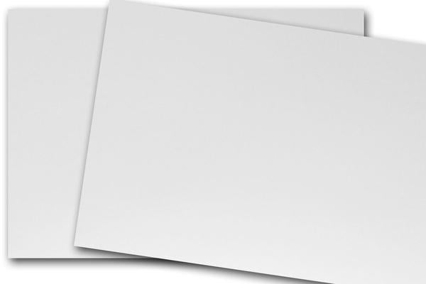 White 4x6 inch discount card stock