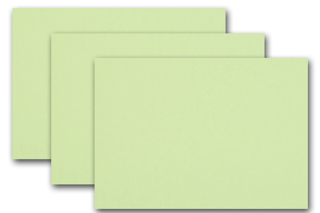 mint green discount card stock for post cards flyers
