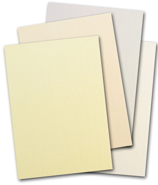 Royal Sundance Linen A7 Flat Card Invitations (lights) - 250 pk