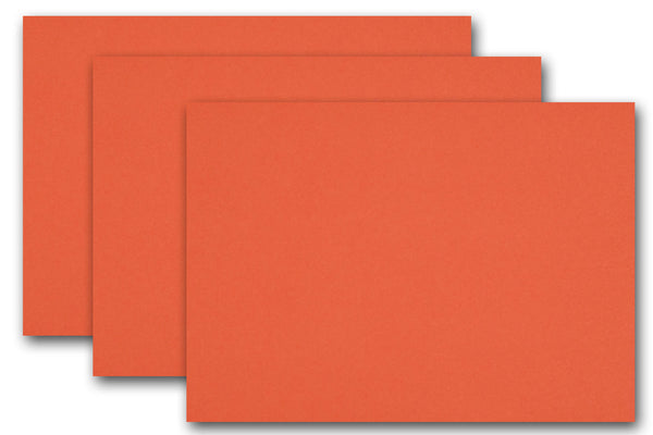 Discount Orange Card Stock