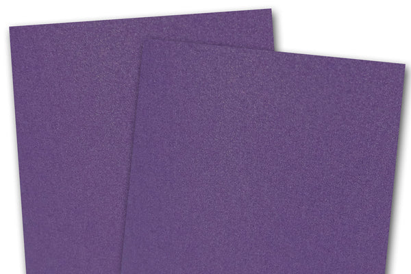 Metallic Purple Card Stock