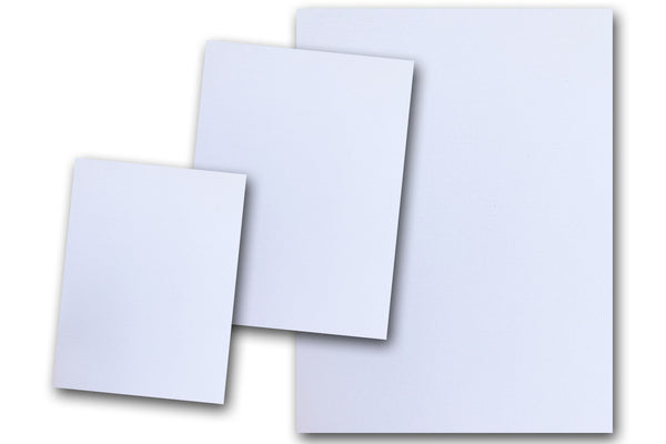 Canvas Textured White Card Stock
