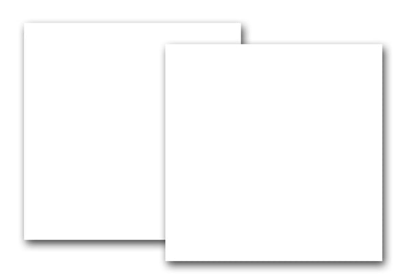 White 12x12 Discount Card Stock