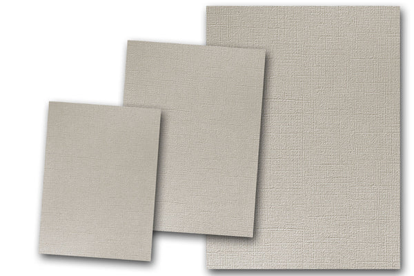 canvas textured grey card stock