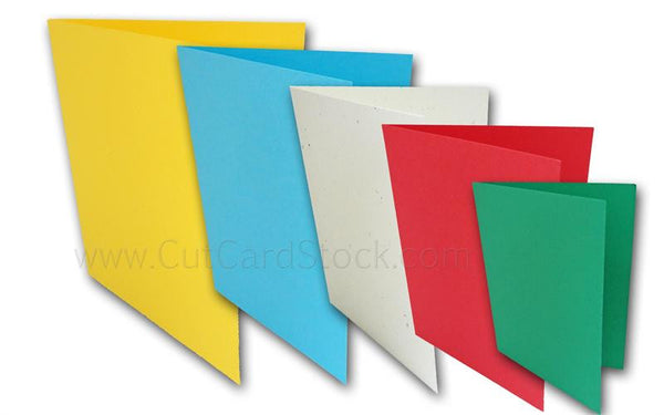 Blank Folded Note Cards, A2 folded cards, DIY note cards