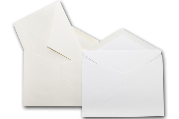 5x7 white envelope
