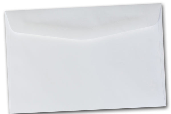 Cougar Opaque WHITE 6 x 9 Booklet envelopes 50 pk