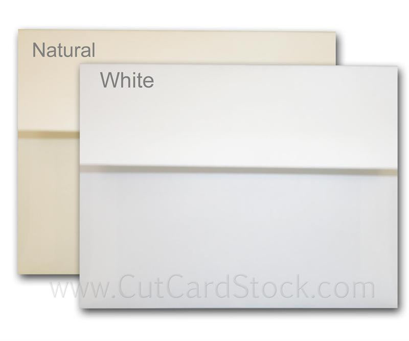 Bulk White Or Natural A-9 Envelopes - 1000 Envelopes – Cutcardstock