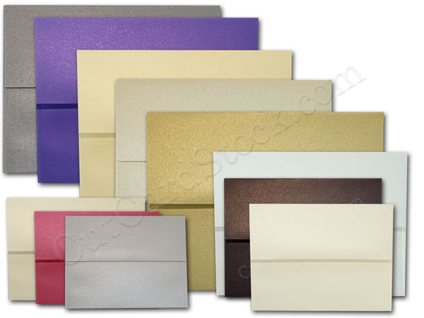 Square Metallic Envelopes