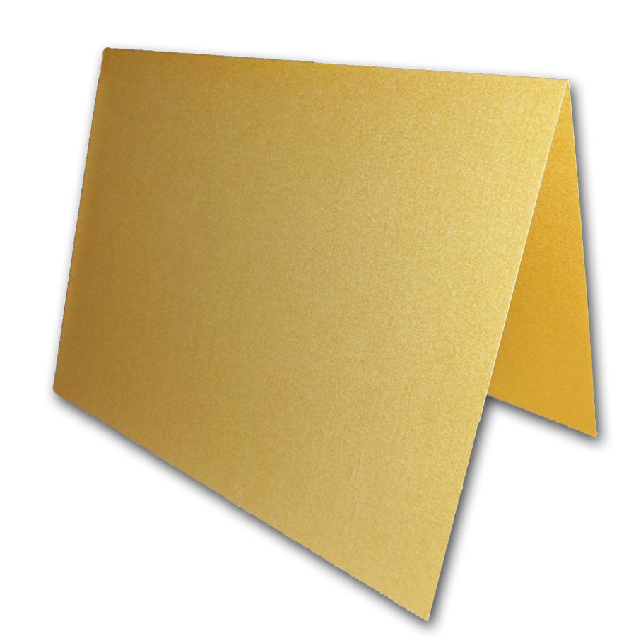 blank metallic a2 folded note cards for invites and thank you notes