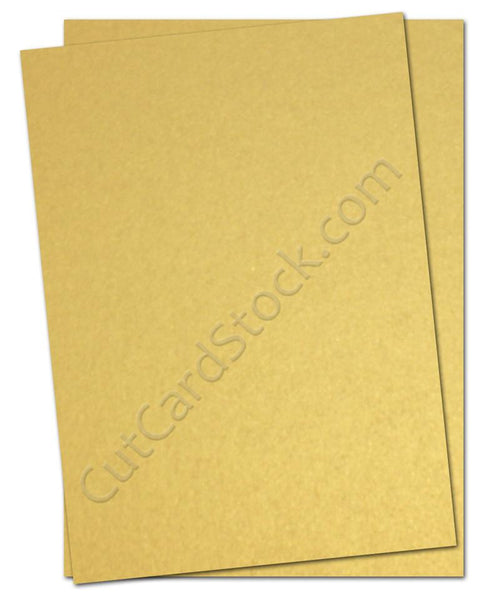 Gold Cardstock
