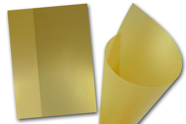 Curious Iridescent Gold Translucent paper
