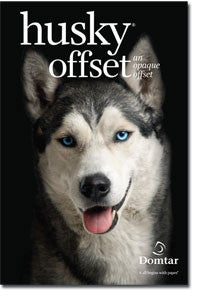 Husky offset opaque WHITE paper - 500 sheets