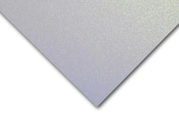 Silk GLITTER Opulent Opal 12x12 Card Stock - 1 Sheet