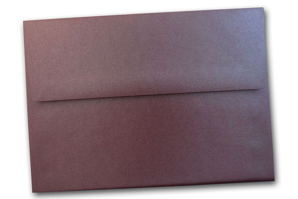 Stardream Metallic RUBY  A7 envelopes - 25 pk Closeout