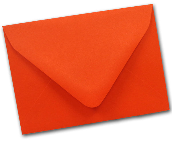 Orange RSVP Envelopes