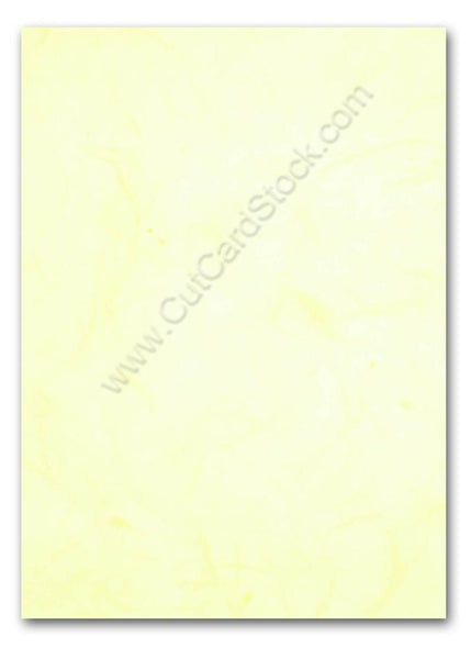 pale yellow mulberry paper