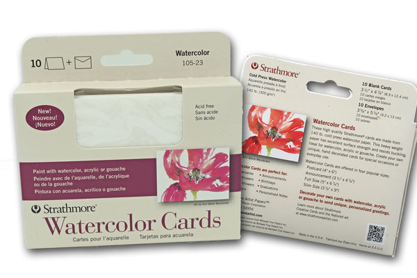 Strathmore Water color Cards and Envelopes