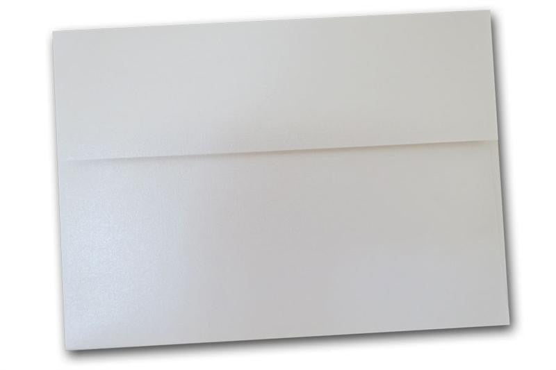 classic linen white pearl a7 envelopes for 5x7 inch invitations