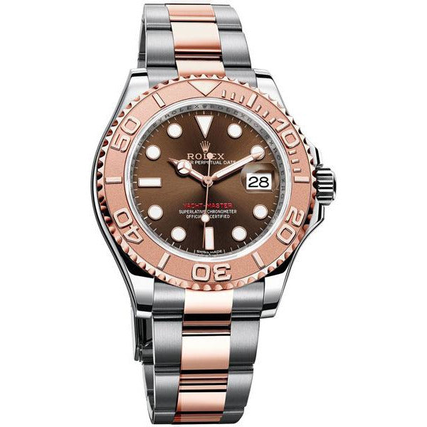 ROLEX YACHT-MASTER 18K ROSE GOLD & STAINLESS STEEL 40MM