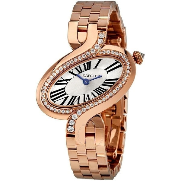 CARTIER ROSE GOLD & DIAMOND  DELICES