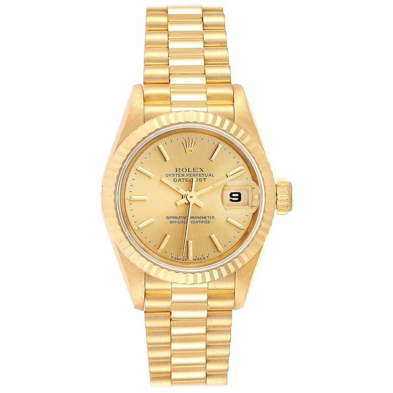 ROLEX YELLOW GOLD LADIES DATEJUST