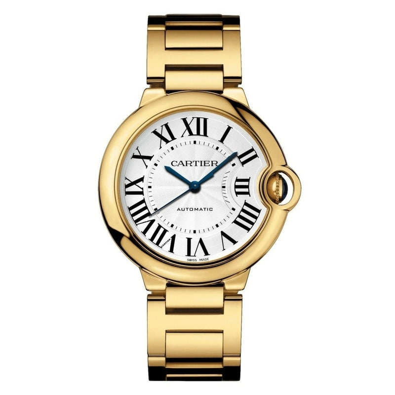 CARTIER BALLON BLEU YELLOW GOLD 36MM MIDSIZE
