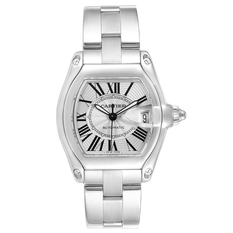 CARTIER ROADSTER STAINLESS STEEL LARGE