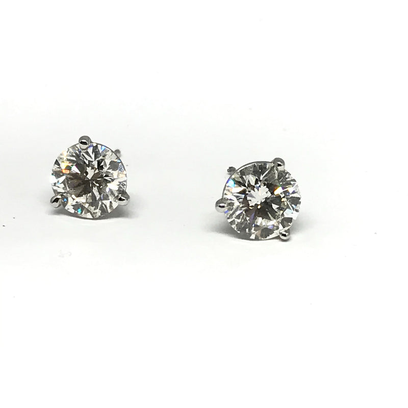 2.69 CT TW DIAMOND STUDS