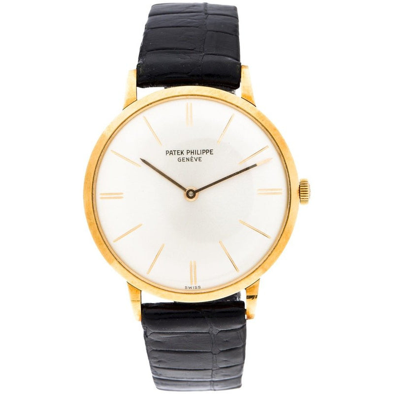 PATEK PHILIPPE 18K YELLOW GOLD CALATRAVA