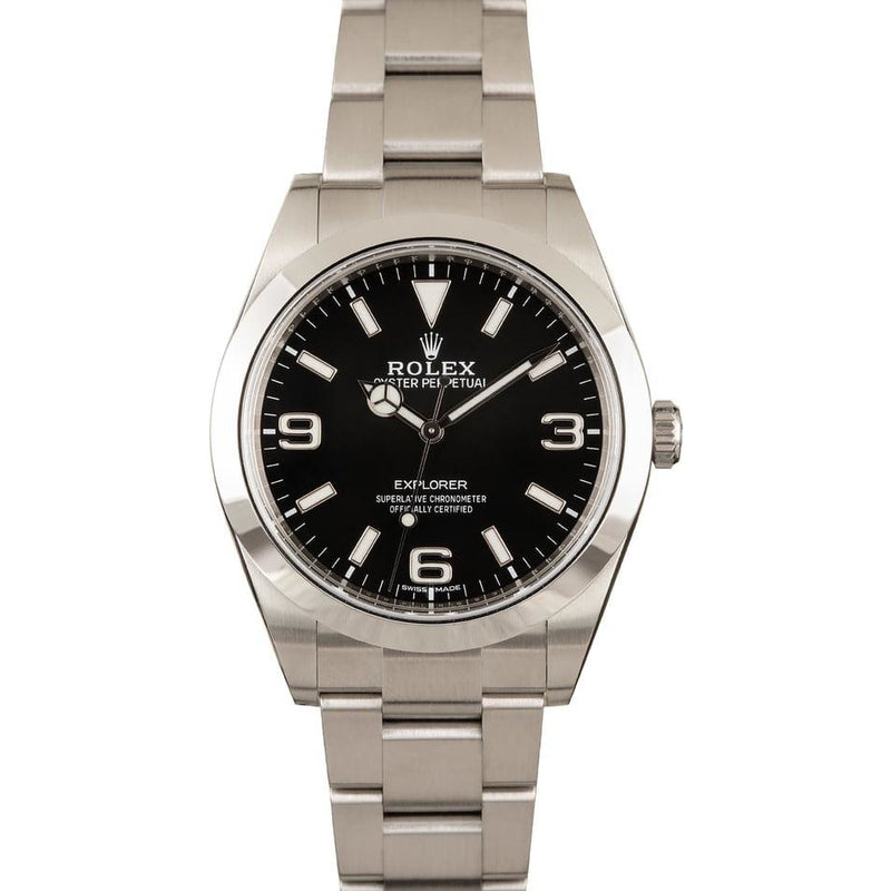 ROLEX EXPLORER 1 STAINLESS STEEL