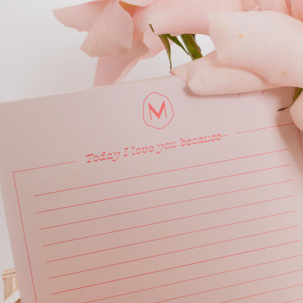 Love Note Pad
