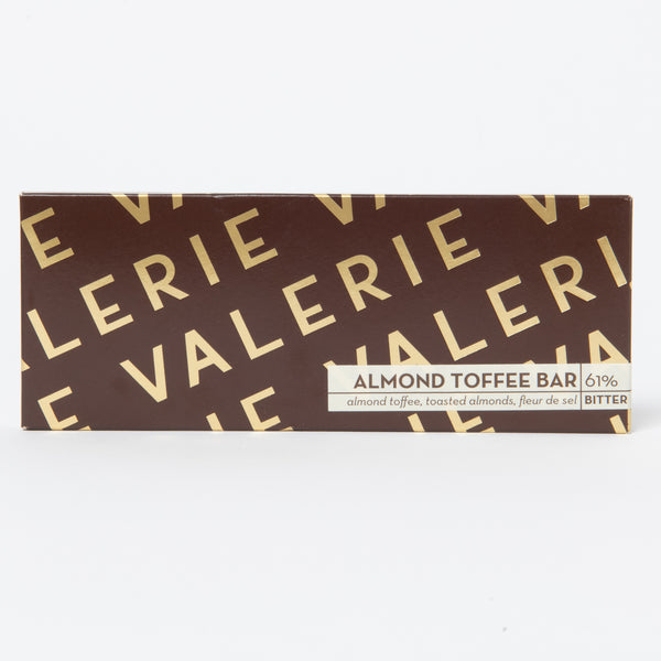 Valerie Almond Toffee Bar