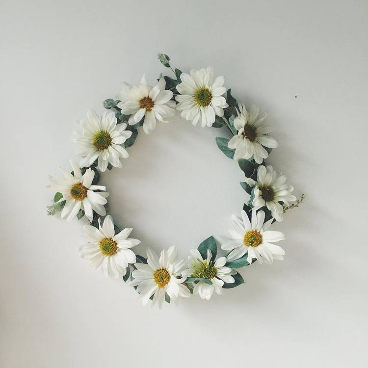 Custom Fresh Flower Crown