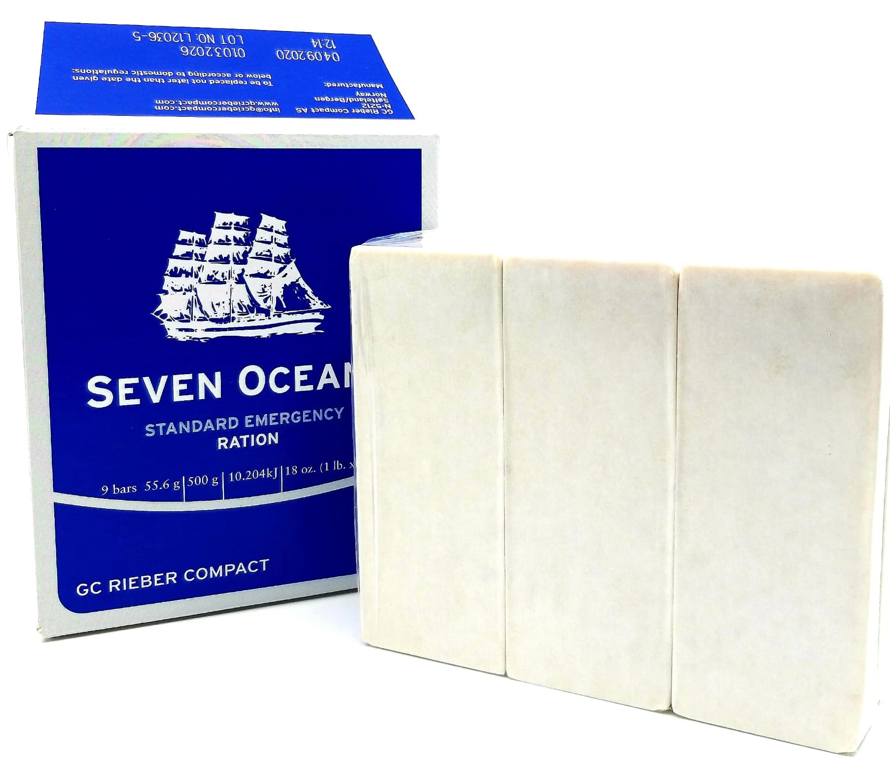 Seven oceans (norway biscuits)