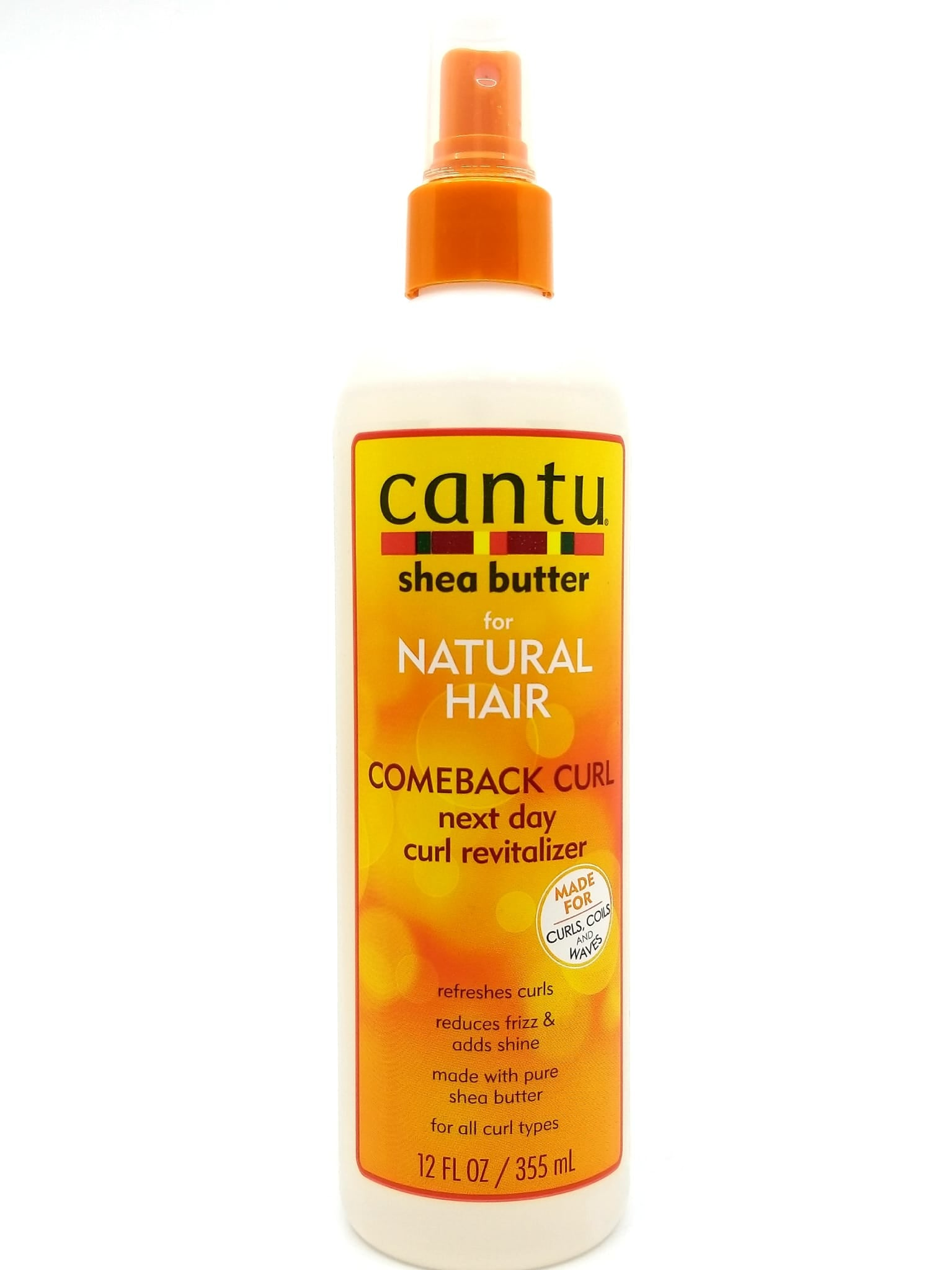Cantu shea butter hair curl revitalizer