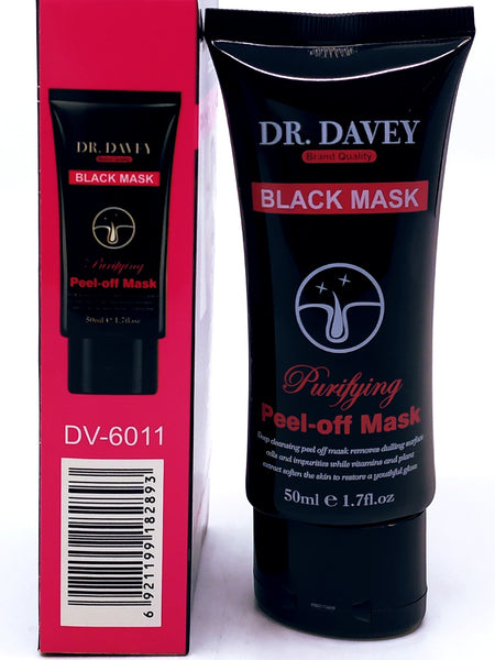Dr. Davy Black face Mask 1 pces