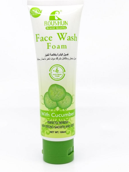 Touch me Face wash foam with Aloe vera