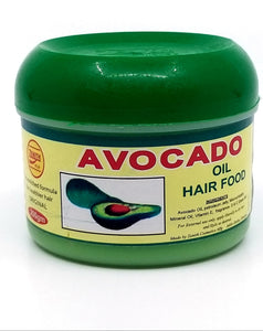 Avocado oil hair food