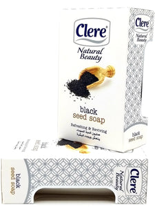 Clere black seed soap