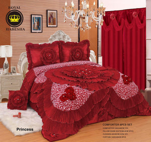 Royal Habesha Comforter with curtains