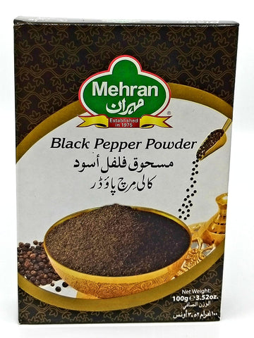 Mehran black pepper powder