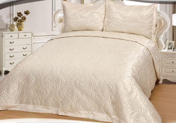 Royal Habesha 3pcs Satin Bedspread set